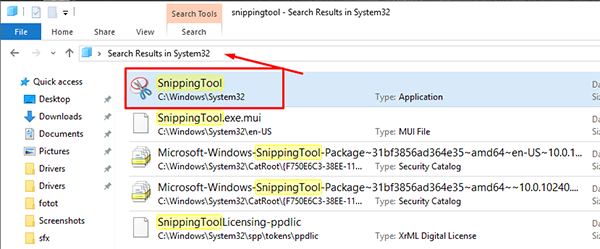 Snipping Tool Missing From Windows 10 2