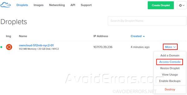 Create-your-ownCloud-storage-Server-on-DigitalOcean-14
