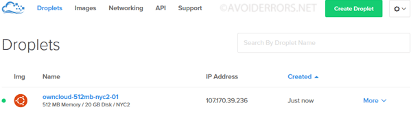 Create-your-ownCloud-storage-Server-on-DigitalOcean-2