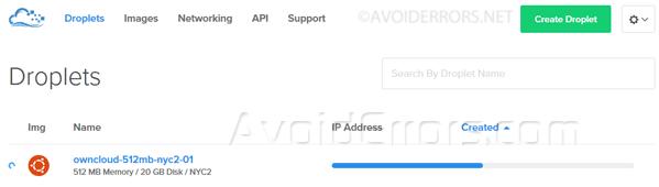 Create-your-ownCloud-storage-Server-on-DigitalOcean-3