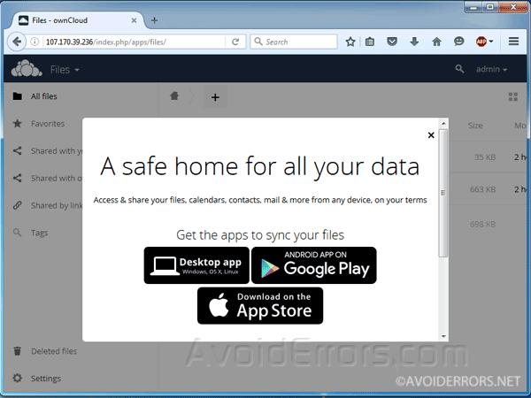 Create-your-ownCloud-storage-Server-on-DigitalOcean-8