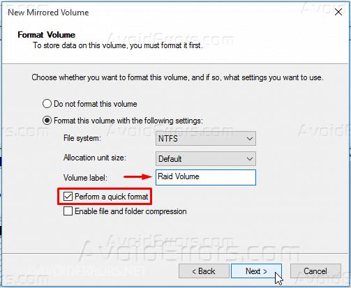 Mirrored-Array-in-Windows-10-12