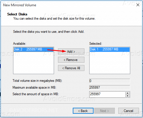Mirrored-Array-in-Windows-10-3