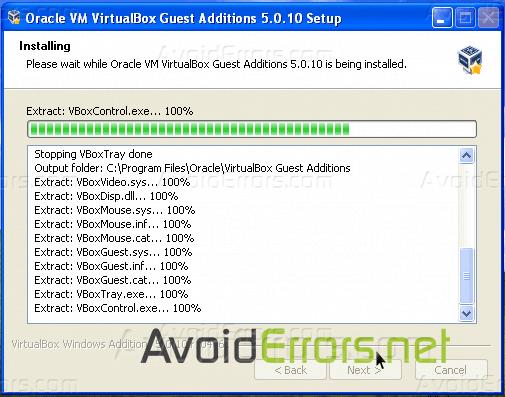 Fix No Internet Access on VirtualBox Windows XP - AvoidErrors