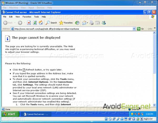 internet explorer download xp