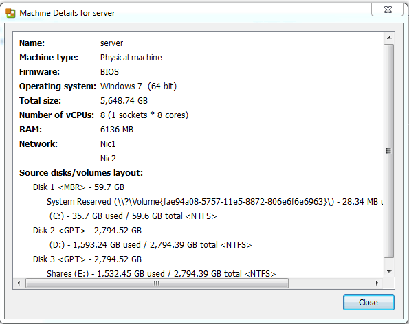 How to Migrate a Physical Workstation to ESXI Server - AvoidErrors