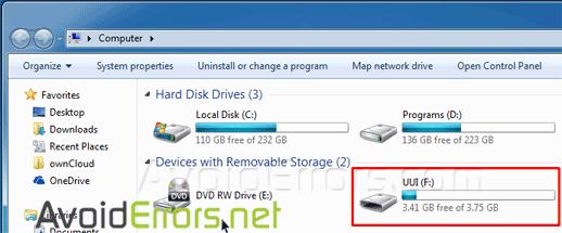 universal pen drive installer