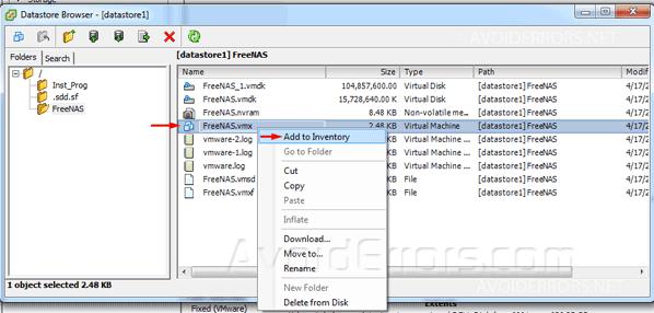 Backup and Restore VMware ESXi Virtual Machine to a New Host