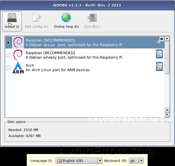 How to Install NOOBS on Raspberry Pi - AvoidErrors