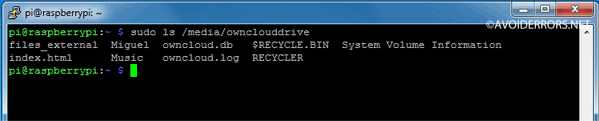 Raspberry-Pi-OwnCloud-Mount-and-Setup-an-External-Drive-3