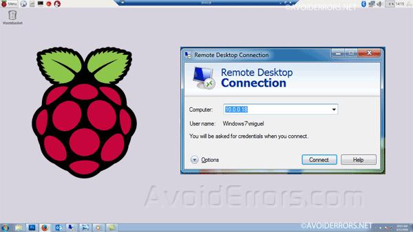 Raspberry pi download remote desktop