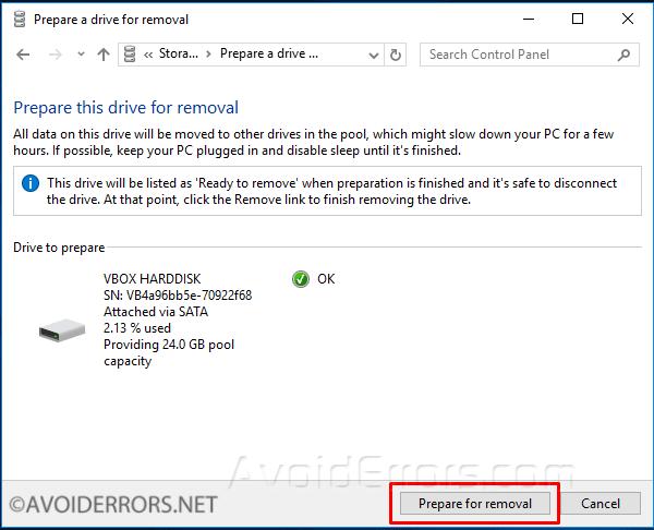 how to delete storage pool in vnxe3100