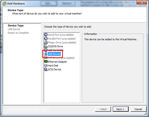 How to Mount USB Drive to a VM in vSphere ESXI 5 or 6 - AvoidErrors