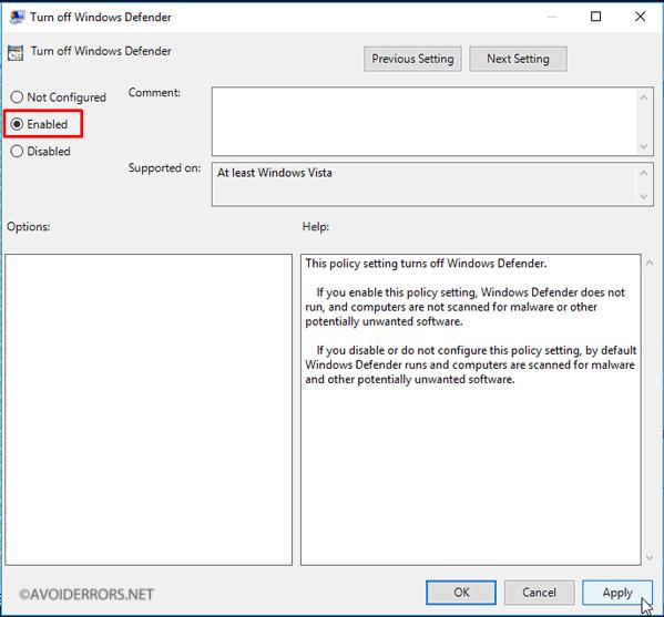 disable-windows-defender-in-windows-10-via-registry-or-group-10