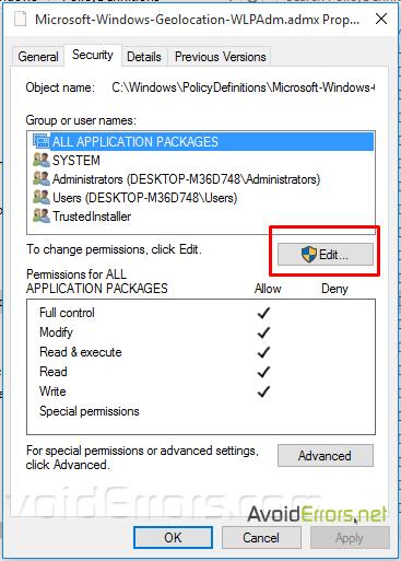 microsoft-policies-sensors-windowslocationprovider-is-already-defined-3