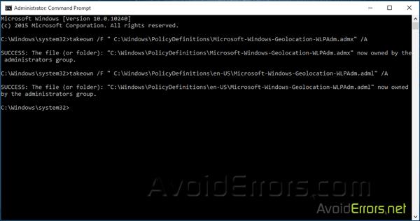 microsoft-policies-sensors-windowslocationprovider-is-already-defined-7