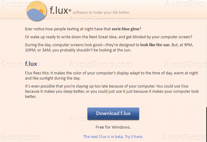 How to Add Blue light Filter in Windows 7/8/8 1/10 - AvoidErrors