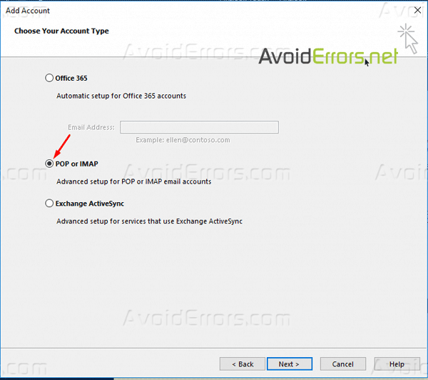 Add Your Yahoo Account to Outlook 2016 Using IMAP settings 20