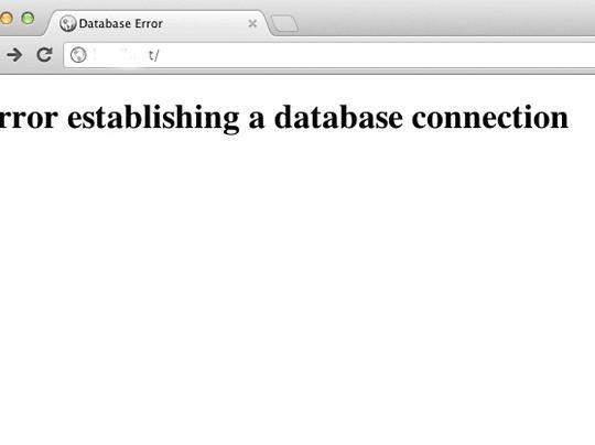 "How to Solve ""Error Establishing Database Connection"" in WordPress"