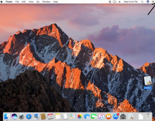 How to turn off a MAC screen?