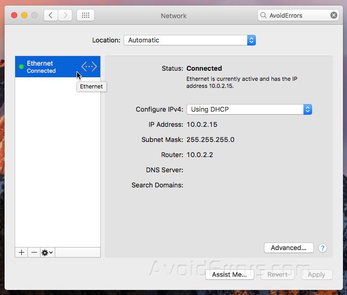 how to change ip address on mac laptop