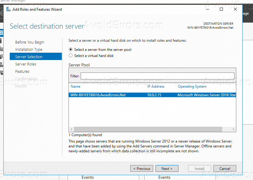How to Setup and Configure DHCP on Windows Server 2016? - AvoidErrors