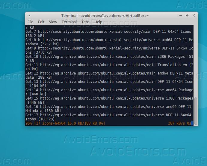 sudo apt-get install mysql-client mysql-server