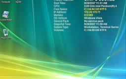 Display Computer / Server Information on Desktop
