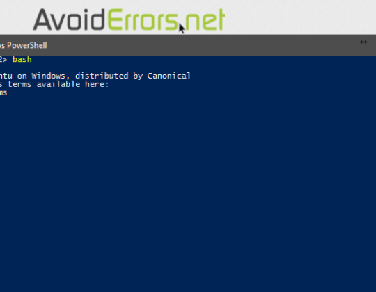Install BASH Command Line tool Windows 10
