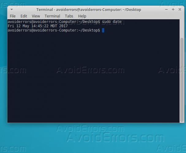 How To Set Up Time Synchronization on Ubuntu 16 04 - AvoidErrors