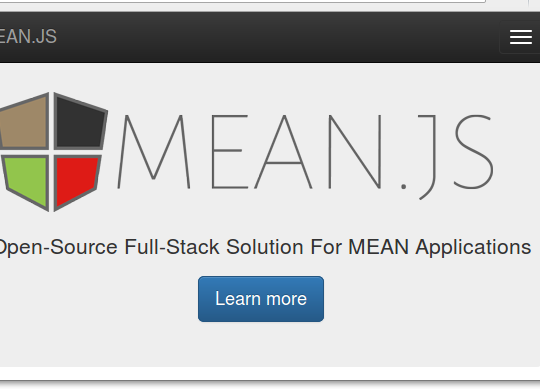How To Install a MEAN.JS Stack on an Ubuntu 16.04 Server?