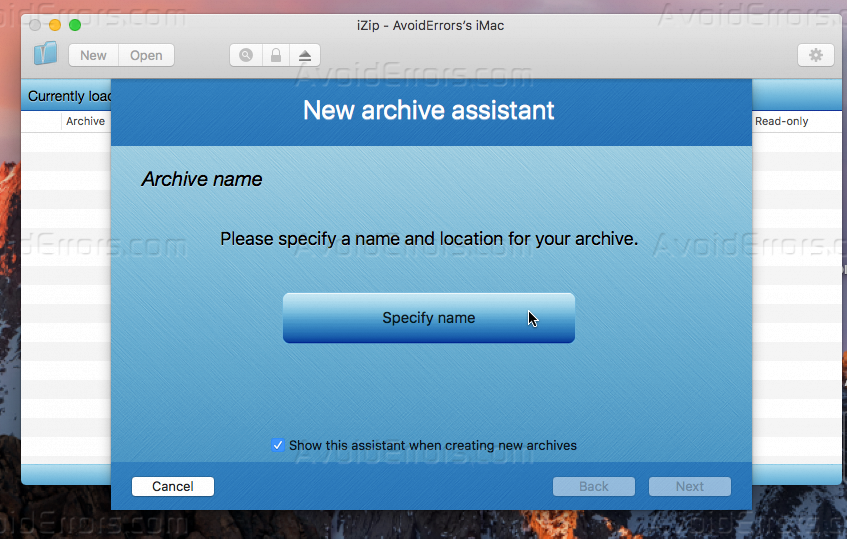 how to open a zip archive file on a mac