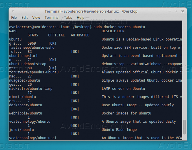 install docker ubuntu 16.04 desktop