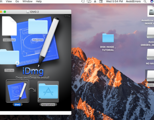 How to Create a DMG File on a MacOS?