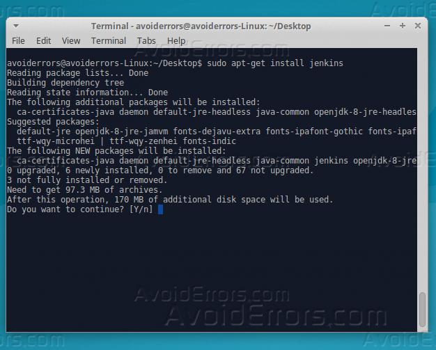 install jenkins x linux