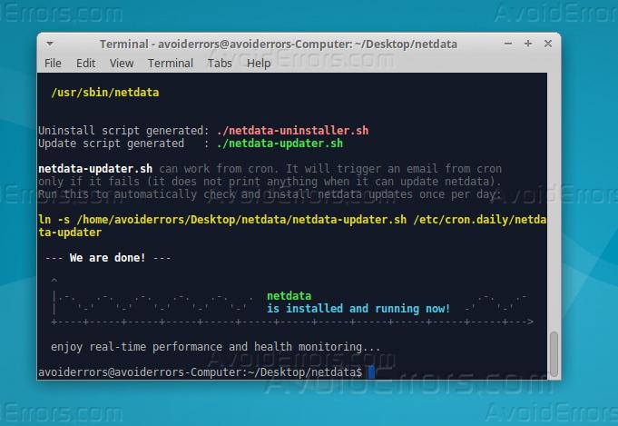 netdata install3