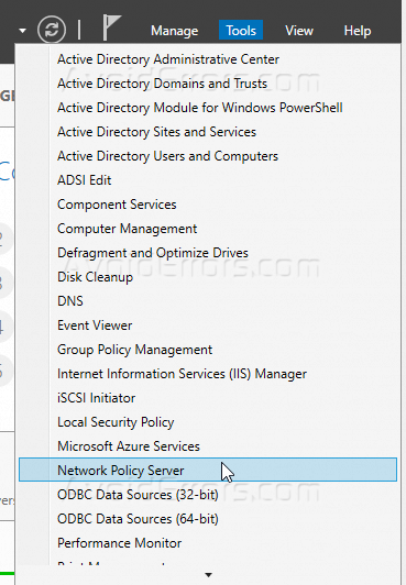 Network Policy Server NPS