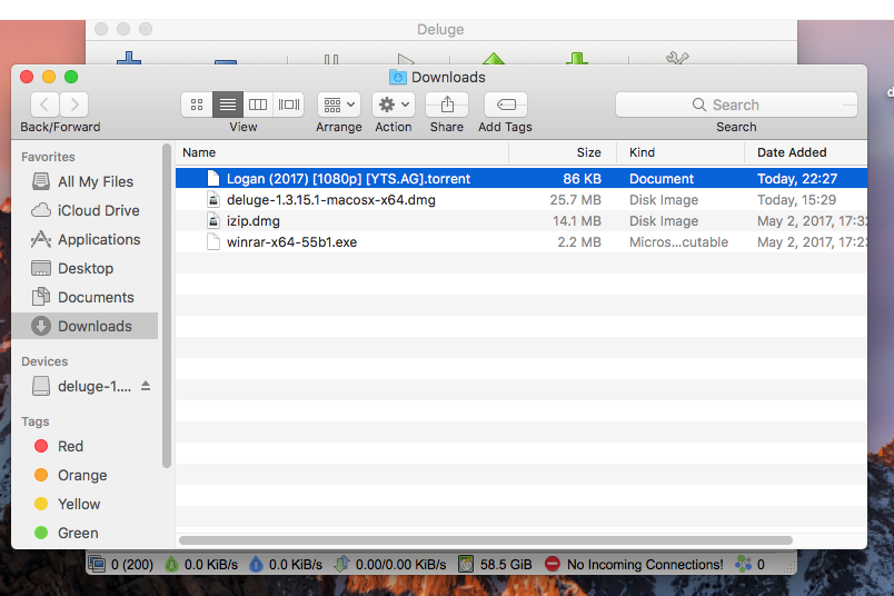 How to Install Deluge Torrent Application Mac OS X - AvoidErrors
