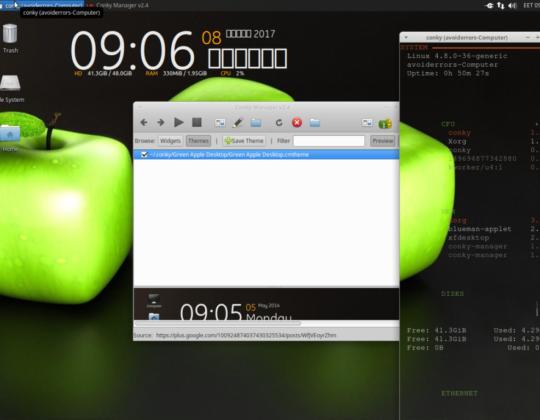 How to Install Conky on Ubuntu 16.04
