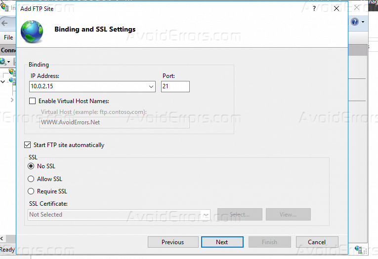 How to install and Configure FTP Server on Windows Server 2016