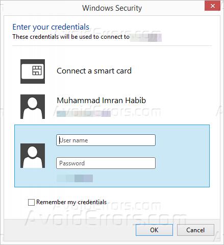 Force Remote Desktop Connection to Save Server Credentials