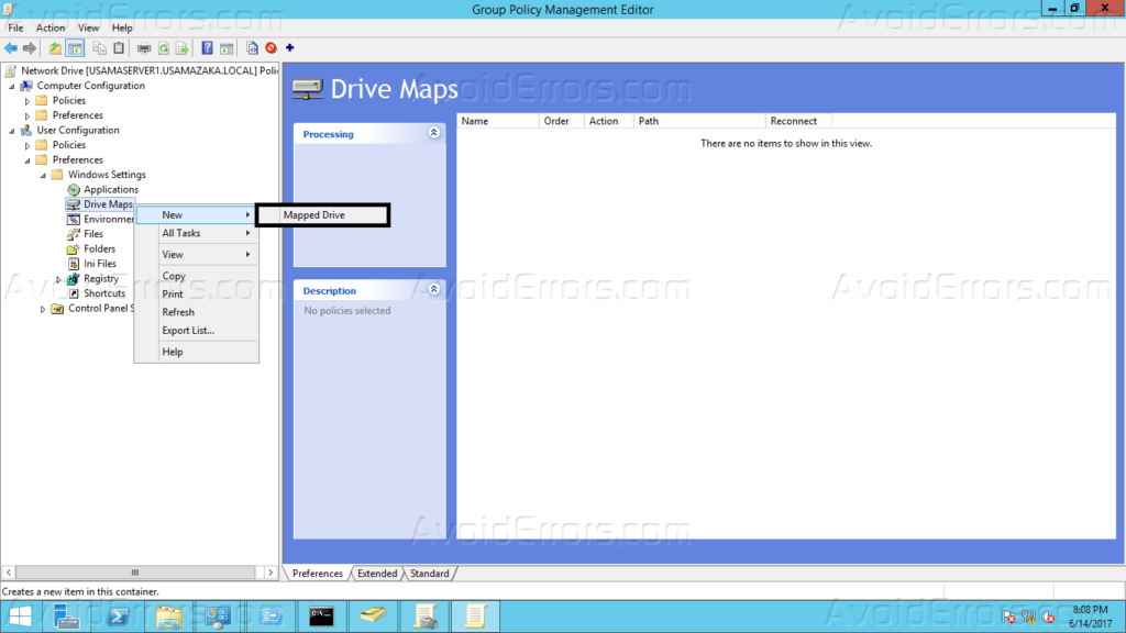How to Map Network Drives Using Group Policy in Windows Server Mapped Drives Windows on