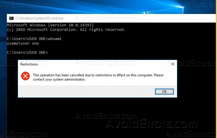 Remove Shutdown, Hibernate and Restart Option from Start Menu via