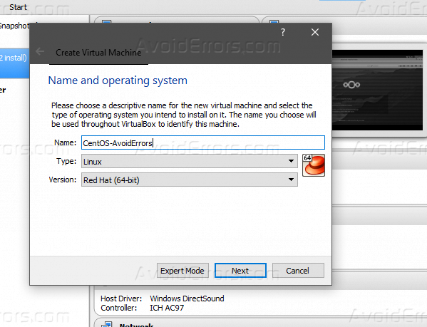 virtualbox 64 bit