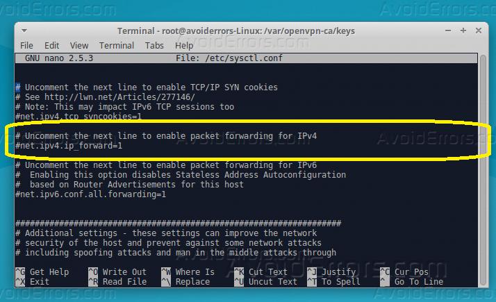 How to Install OpenVPN Server on Ubuntu 16 04 - AvoidErrors