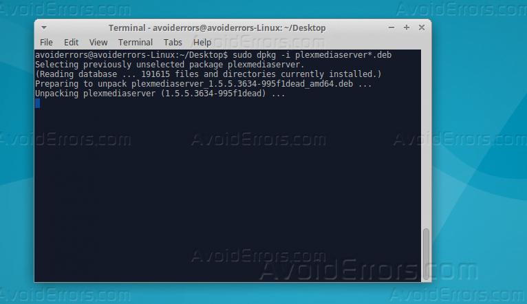 Install Plex Media Server Debian 8 Install - pastcodes