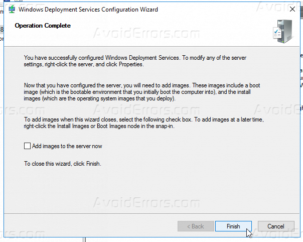 How to Install and Configure WDS In Windows Server 2016 - AvoidErrors