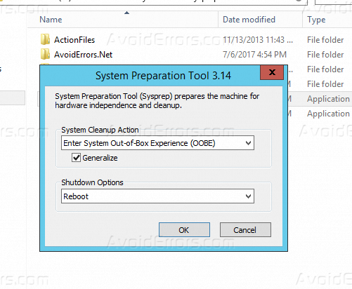 How to Generate New SID in Windows Server 2012 - AvoidErrors