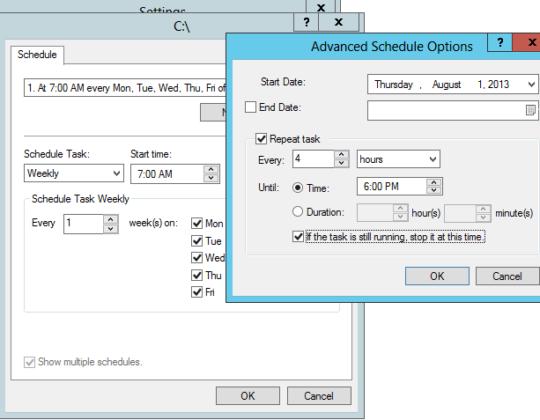 Configure Shadow Copy of Shared Folder Windows Server 2016