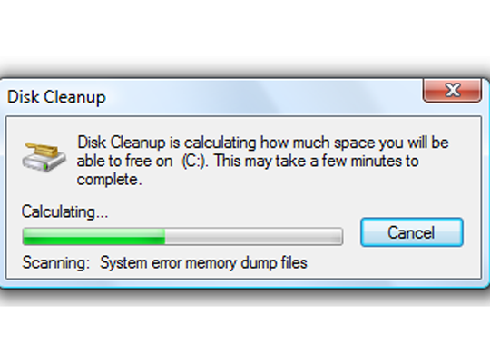 Enable Disk Cleanup Utility in Windows Server 2012